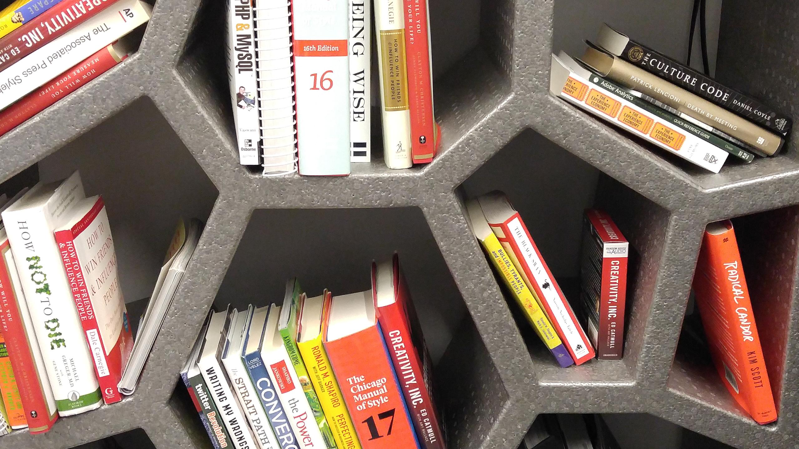 97th Floor Bookshelf