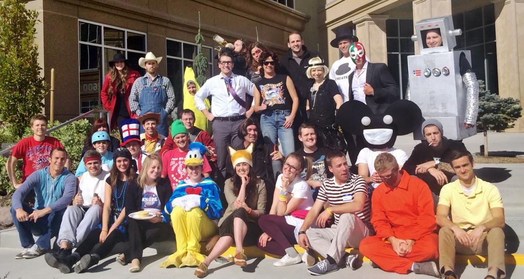97th Floor Employees on Halloween in 2014