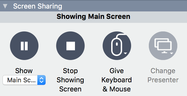 GoToMeeting screen sharing