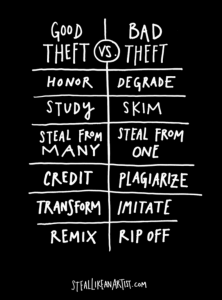 good theft vs bad theft