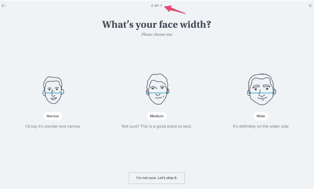 what's your face width